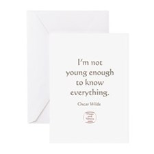 IM NOT YOUNG ENOUGH Greeting Cards (Pk of 10)