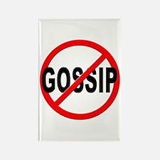 Anti / No Gossip Rectangle Magnet (10 pack)