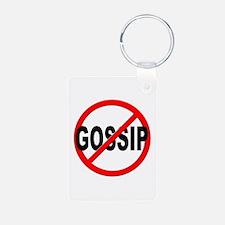 Anti / No Gossip Keychains