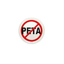 Anti / No PETA Mini Button