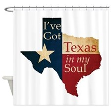 Texas in my Soul Shower Curtain