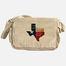 Texas in my Soul Messenger Bag