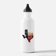 Texas in my Soul Water Bottle