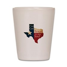 Texas in my Soul Shot Glass