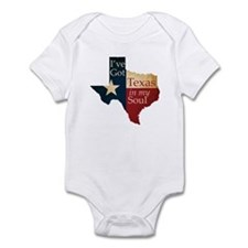 Texas in my Soul Infant Bodysuit
