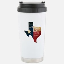 Texas in my Soul Stainless Steel Travel Mug