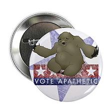 """Vote Apathetic 2.25"""" Button"""
