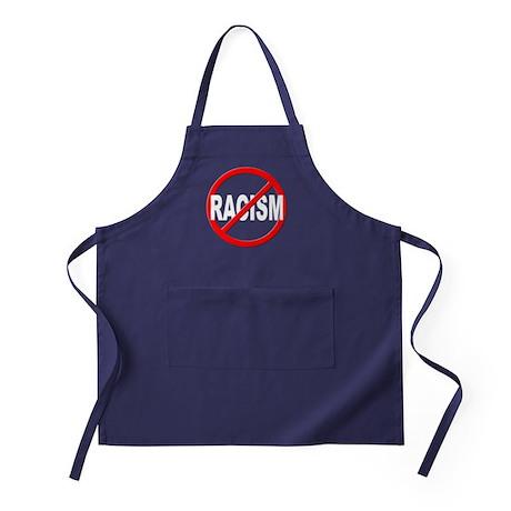 Anti / No Racism Apron (dark)