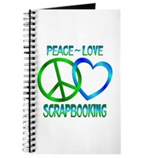 Peace Love Scrapbooking Journal