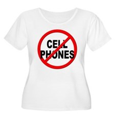 Anti / No Cell Phones T-Shirt