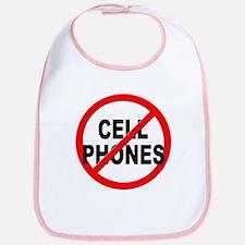 Anti / No Cell Phones Bib
