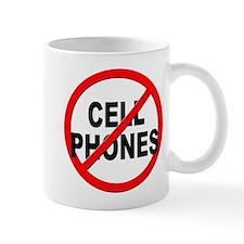 Anti / No Cell Phones Mug