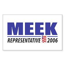 Meek 2006 Rectangle Decal