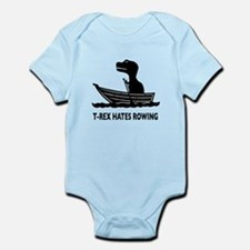 T-Rex Hates Rowing Onesie
