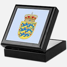 Denmark Coat Of Arms Keepsake Box