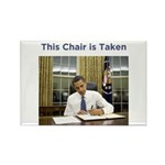 Obama: This Chair is Taken Rectangle Magnet (100 p