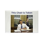 Obama: This Chair is Taken Rectangle Magnet (10 pa
