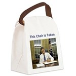 Obama: This Chair is Taken Canvas Lunch Bag