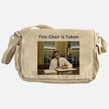 Obama: This Chair is Taken Messenger Bag