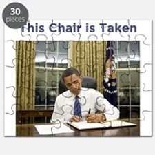 Obama: This Chair is Taken Puzzle