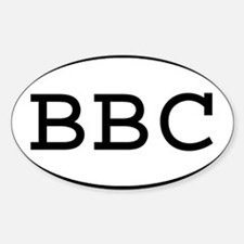 BBC Oval Rectangle Decal