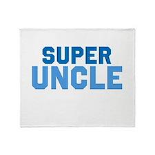 Super Uncle Throw Blanket