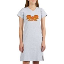 Halloween Pumpkin Kaitlin Women's Nightshirt