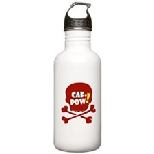 Caf-Pow Skull Water Bottle