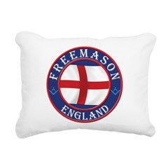 English Freemasons Rectangular Canvas Pillow