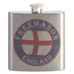 English Freemasons Flask