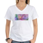 Waldorf Works 14x6 Women's V-Neck T-Shirt