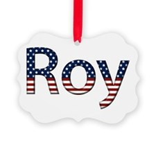 Roy Stars and Stripes Ornament