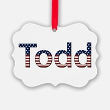 Todd Stars and Stripes Ornament