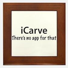 iCarve Framed Tile