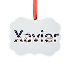 Xavier Stars and Stripes Ornament
