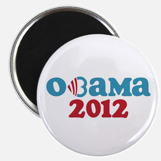 Obama Heart 2012 Magnet