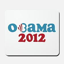 Obama Heart 2012 Mousepad