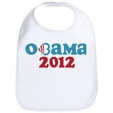 Obama Heart 2012 Bib