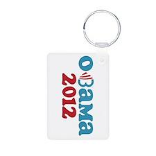 Obama Heart 2012 Keychains
