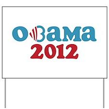 Obama Heart 2012 Yard Sign