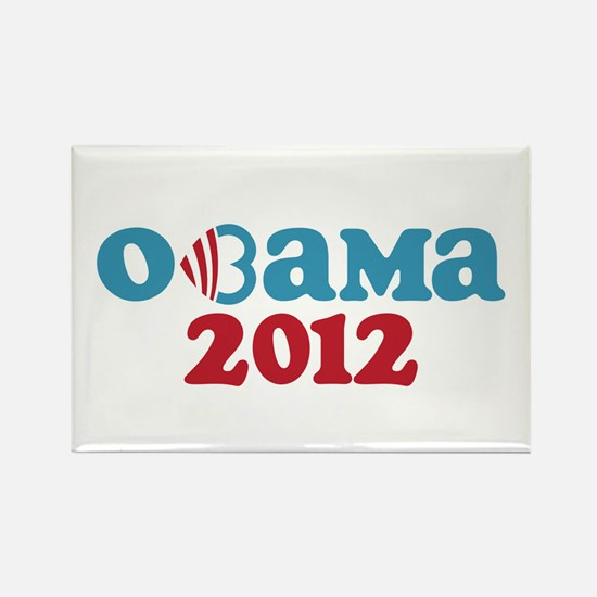 Obama Heart 2012 Rectangle Magnet