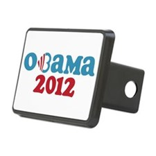 Obama Heart 2012 Hitch Cover