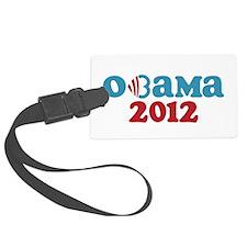 Obama Heart 2012 Luggage Tag
