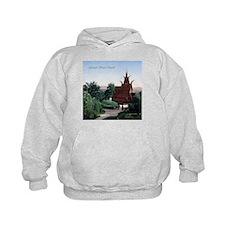 Vintage Fantoft Stave Church Hoodie