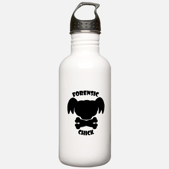 Forensic Chick Water Bottle