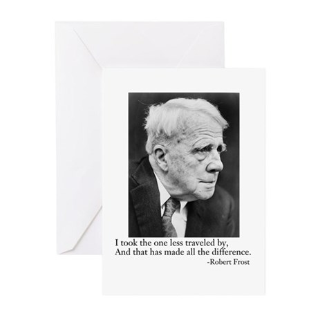 Robert Frost Greeting Cards (Pk of 10)