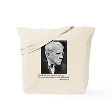 Robert Frost Tote Bag