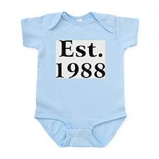 Est. 1988 Infant Creeper