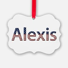 Alexis Stars and Stripes Ornament