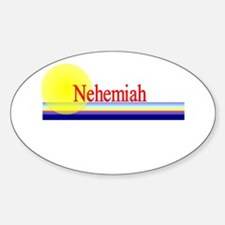 Nehemiah Oval Decal